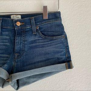 J. CREW denim shorts SIZE 25